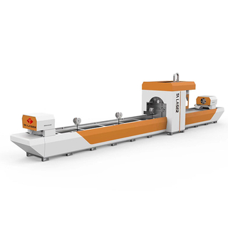 Eight-axis No Scrap Tube Laser Cutting Machine